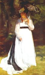 Lise with umbrella 1867