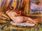Reclining nude 1860