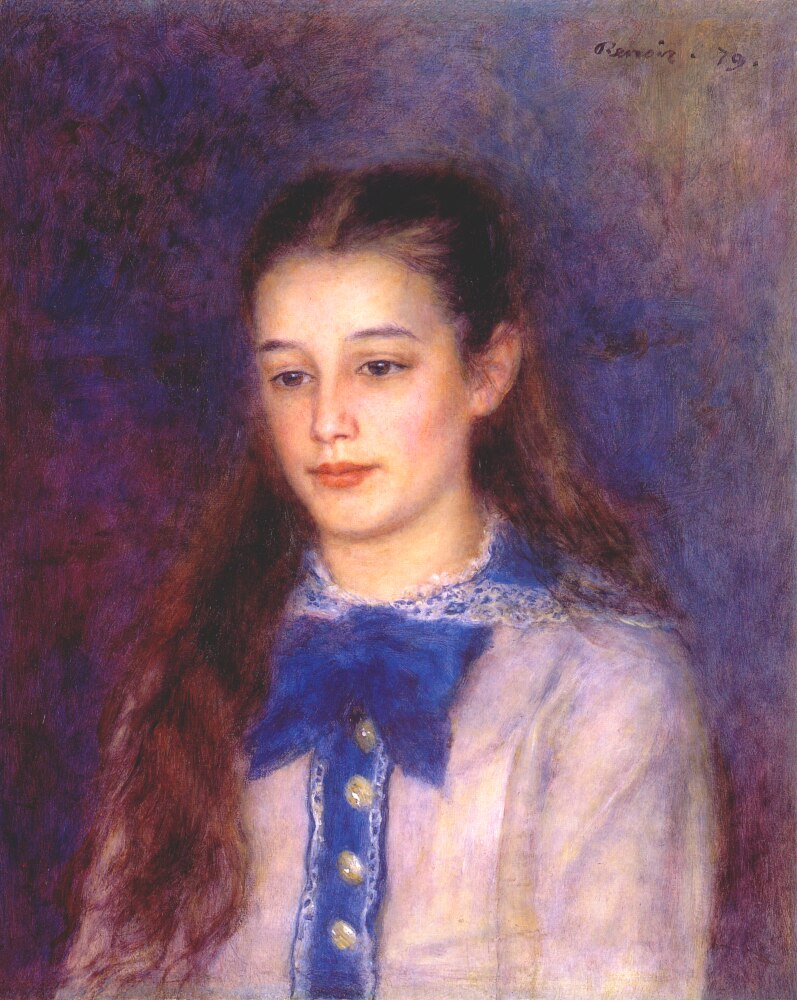 Portrait of Therese Berard 1879