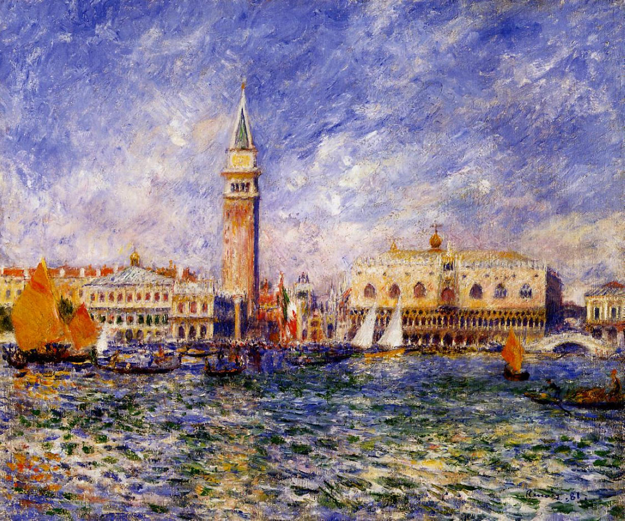 The Doges Palace 1881