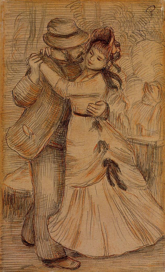 Dance in the country 1883