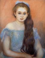 Portrait of a young girl 1887