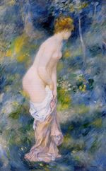 Standing bather 1887