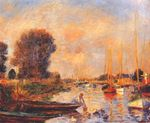 The Seine at Argenteuil 1888
