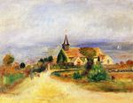 Village by the sea 1889