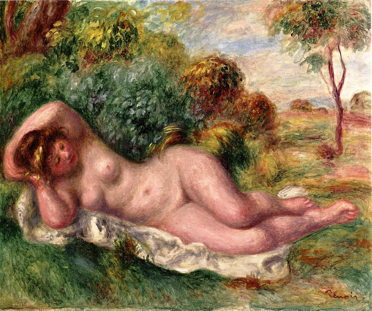 Reclining nude the baker's wife 1902
