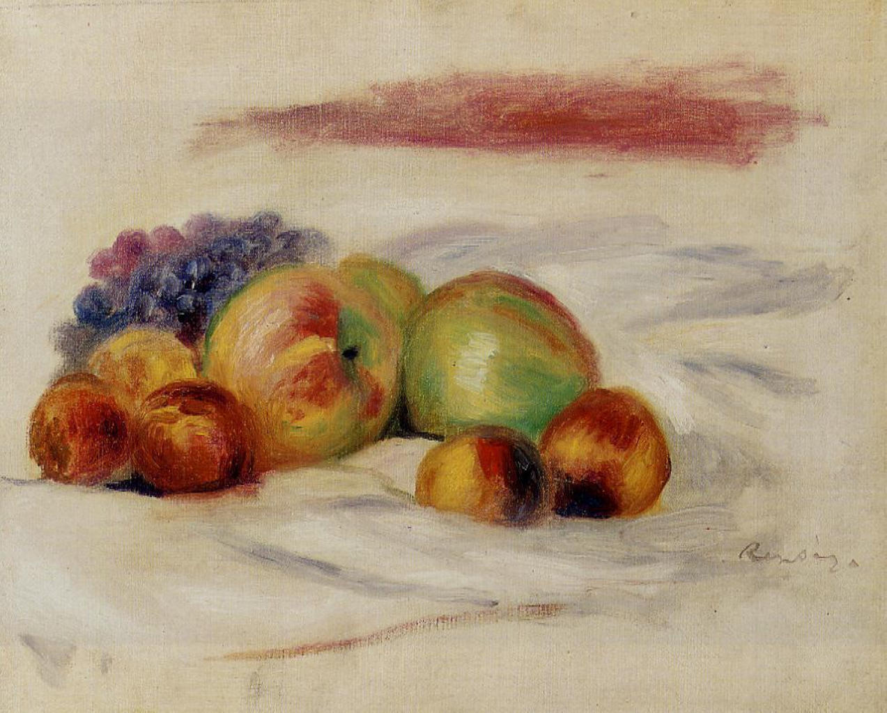 Apples and grapes 1910