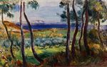 Pines in the vicinity of Cagnes 1910