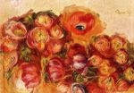 Study of flowers anemones and tulips 1910