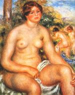 Seated bather 1914